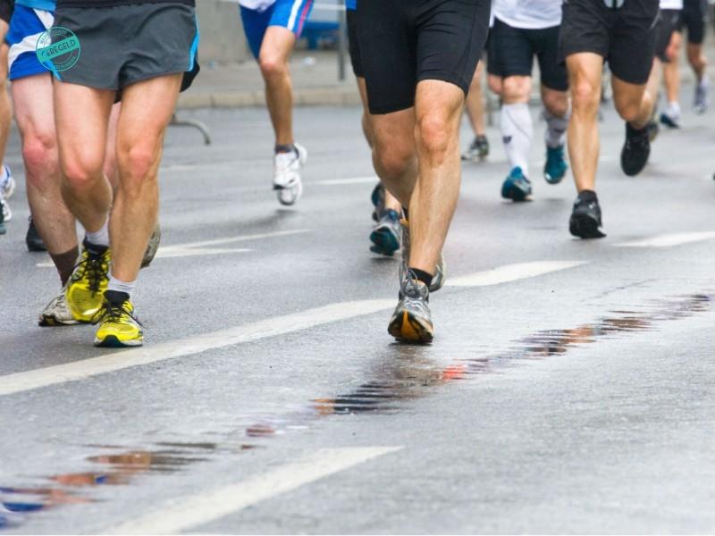 Hardloop wedstrijd georganiseerd door Merkevents